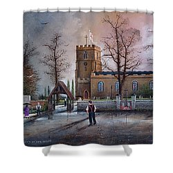 St Marys Church - Kingswinford Shower Curtain