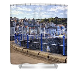 St Peter Port - Guernsey Shower Curtain by Joana Kruse