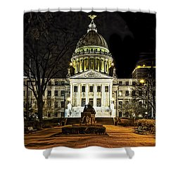 State Capitol Shower Curtain