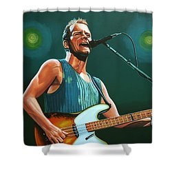 Sting Shower Curtain by Paul Meijering