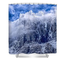 Stone Cold Shower Curtain by Aaron Aldrich