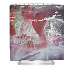 String Theory - Praise Shower Curtain by Carrie Maurer