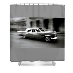 The Zen Of Havana Shower Curtain by Shaun Higson