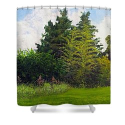 Summer Shower Curtain by Jeanette Jarmon