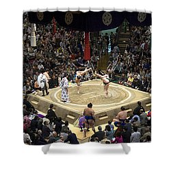 Sumo Summer Tournament 2014 Tokyo Shower Curtain