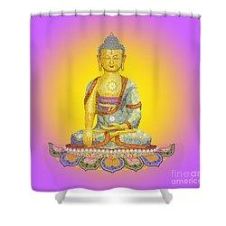 Sun Buddha Shower Curtain
