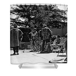 Sun Ra Arkestra Uc Davis Quad 2 Shower Curtain by Lee  Santa