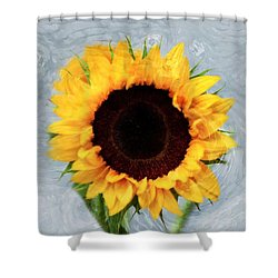 Shower Curtain featuring the photograph Sunflower by Bill Howard