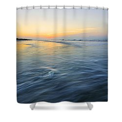 Sunrise On Hilton Head Island Shower Curtain by Peter Lakomy