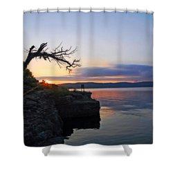 Sunrise Over Table Rock Lake Shower Curtain