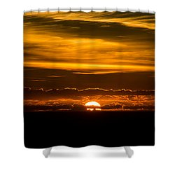Sunset Clouds Shower Curtain