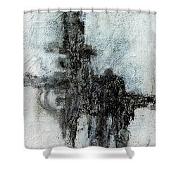 Super Structure Shower Curtain by Jim Whalen