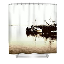 Sur3 Shower Curtain by Justin Moranville