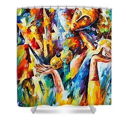 Sweet Dreams Shower Curtain by Leonid Afremov