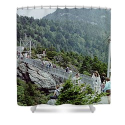 Swinging Bridge Shower Curtain