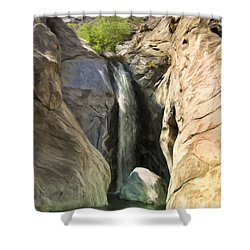 Tahquitz Falls Shower Curtain