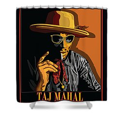 Taj Mahal Shower Curtain by Larry Butterworth