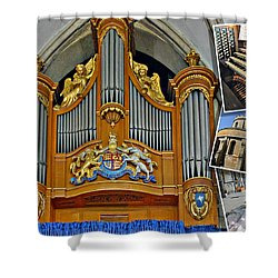 Temple Church London Shower Curtain