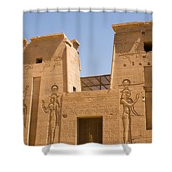Temple Wall Art Shower Curtain by James Gay