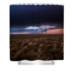 Texas Tornado Shower Curtain