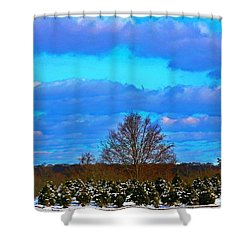 Shower Curtain featuring the photograph The Beauty Of Nature by Judy Palkimas