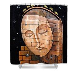 The Corner Shower Curtain