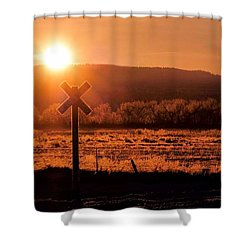 The Crossing Shower Curtain