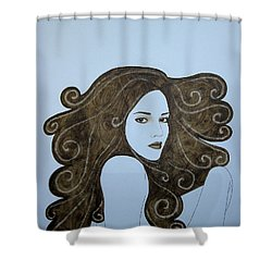 The Crush Shower Curtain