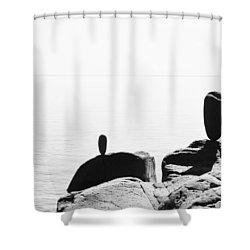 The Expanse Shower Curtain by Matthew Blum