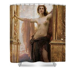 The Gates Of Dawn Shower Curtain