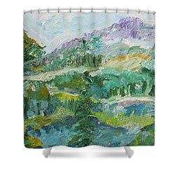 The Great Land Shower Curtain
