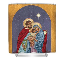 The Holy Family For The Holy Family Hospital Of Bethlehem 272 Shower Curtain