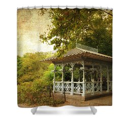 The Ladies Pavilion Shower Curtain by Jessica Jenney
