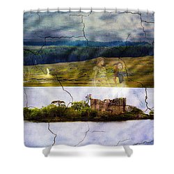 The Lost Kingdom Shower Curtain