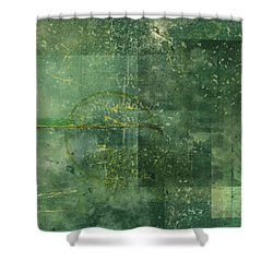 The Mystic Shower Curtain by Christopher Gaston