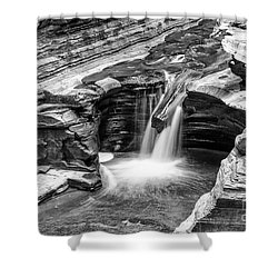The Narrows Watkins Glen Shower Curtain