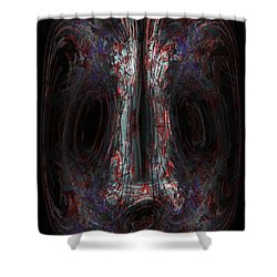 The Painter Shower Curtain by Christopher Gaston