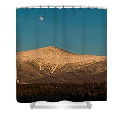 The Presidential Range White Mountains New Hampshire Shower Curtain