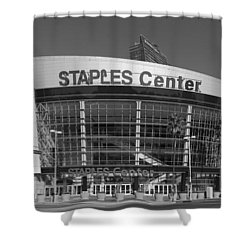 The Staples Center Shower Curtain by Mountain Dreams
