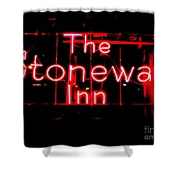 The Stonewall Inn Shower Curtain