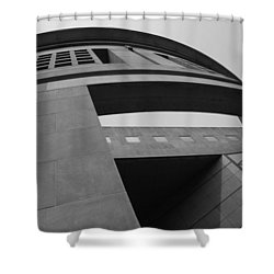 Shower Curtain featuring the photograph The United States Holocaust Memorial Museum by Cora Wandel