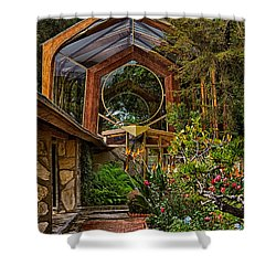 The Wayfarers Chapel Shower Curtain