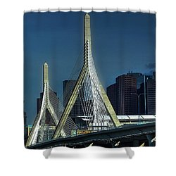 The Zakim 012 Shower Curtain