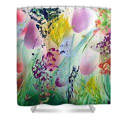 Thinking Of Spring Shower Curtain