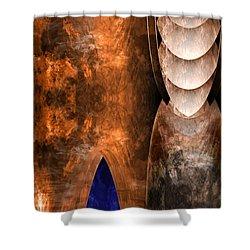 Throneroom Shower Curtain by Christopher Gaston