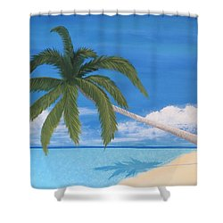 Tranquility Shower Curtain by Tim Townsend