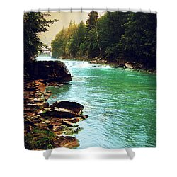 Ukrainian River Shower Curtain