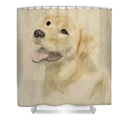 Unconditional Love Shower Curtain by Linda Blair