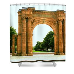 Union Station Arch Shower Curtain