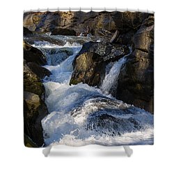 unnamed NC waterfall Shower Curtain